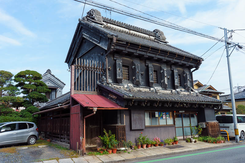 Japan-Tokyo-Kawagoe-Museum - Similarly, this building on its own is a couple of streets over, and looks to be genuinely the oldest of them all.