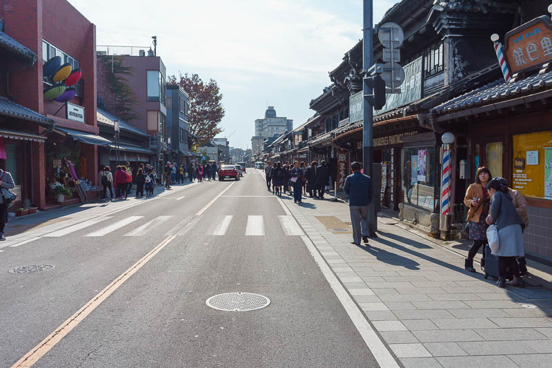Japan-Tokyo-Kawagoe-Museum - In this photo I am almost being killed by a bus.