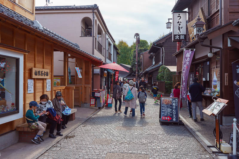 Japan-Tokyo-Kawagoe-Museum - This is candy alley, there are now more shops selling craft beer.