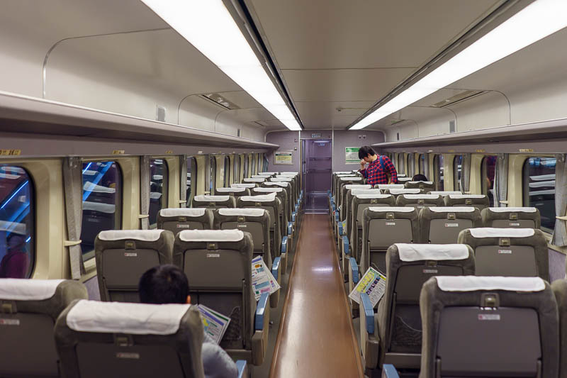 Japan-Tokyo-Kawagoe-Museum - It is a bit strange that you can sit on a train that looks just like a current still in service train.