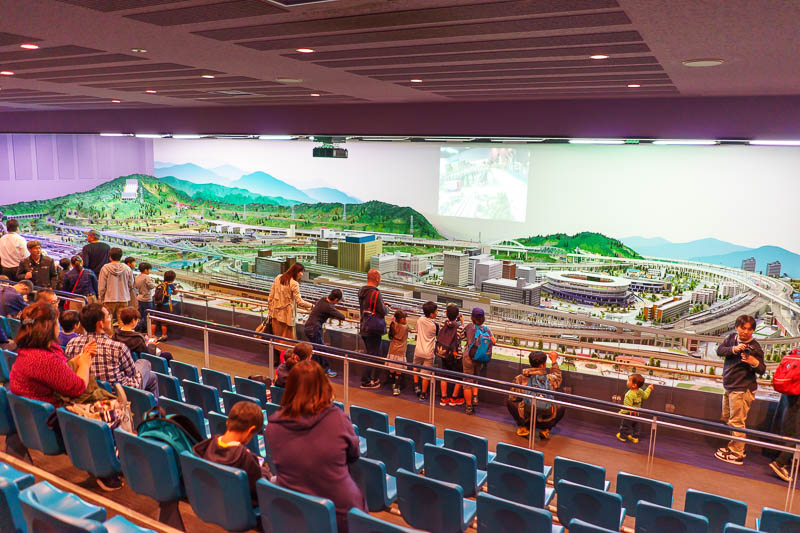 Japan-Tokyo-Kawagoe-Museum - I liked the model railway stadium, but again I was told off for taking photos despite 50 other (Japanese) people taking photos. Were they concerned I
