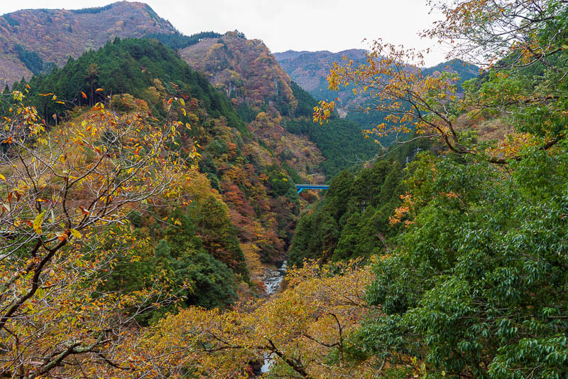 Japan-Okutama-Lake-Hiking - The path to the lake is an official tourist path, called the Mukashi Michi. There is plenty of info about it online, its 10km from the station to the