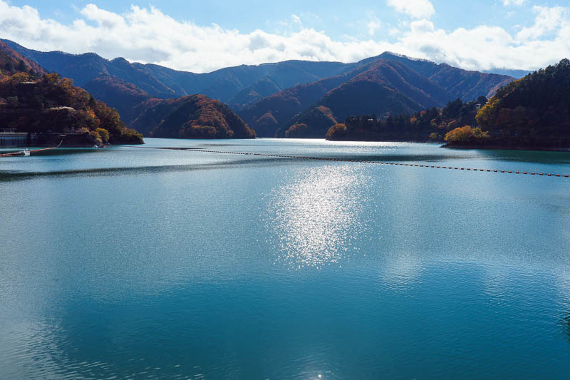 Japan-Okutama-Lake-Hiking - Finally arrived at the lake! Time to get my lake on.