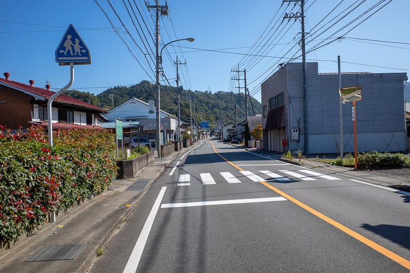 Japan-Tokyo-Hiking-Mount Kuratake - Here is the little village of Torisawa. As you can see from the above photo, they have a 7-eleven from where you can buy calorie mate and pocari sweat