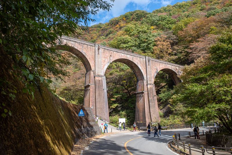 Japan-Takasaki-Hiking-Yokokawa - Its a nice bridge though so I took another photo.