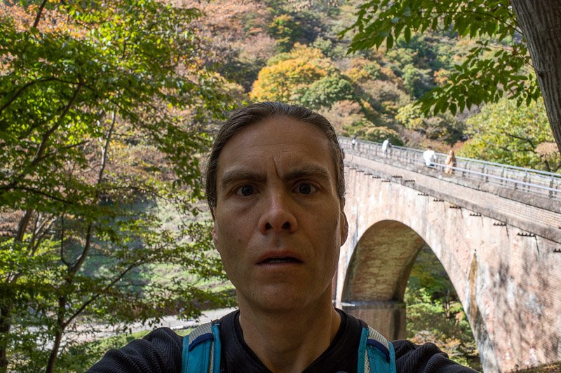 Japan-Takasaki-Hiking-Yokokawa - Here is my famous head again, same angle.
