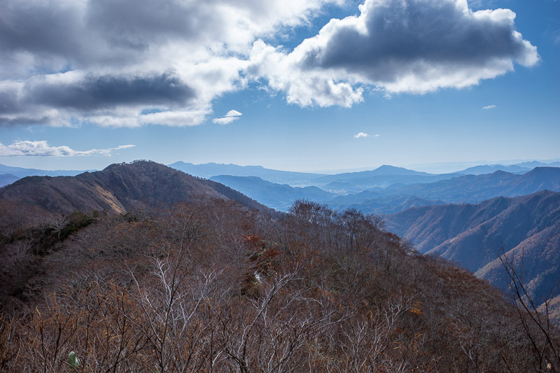 Japan-Hiking-Mount Tanigawa-Doai Station - Still blue sky.