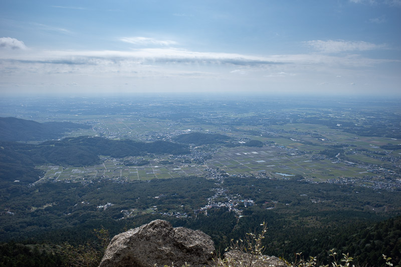 Japan-Tokyo-Hiking-Mount Tsukuba - The view. I culled a lot. Some of that haze is farmer smoke. I think I saw on the tv news this morning a smoke warning.