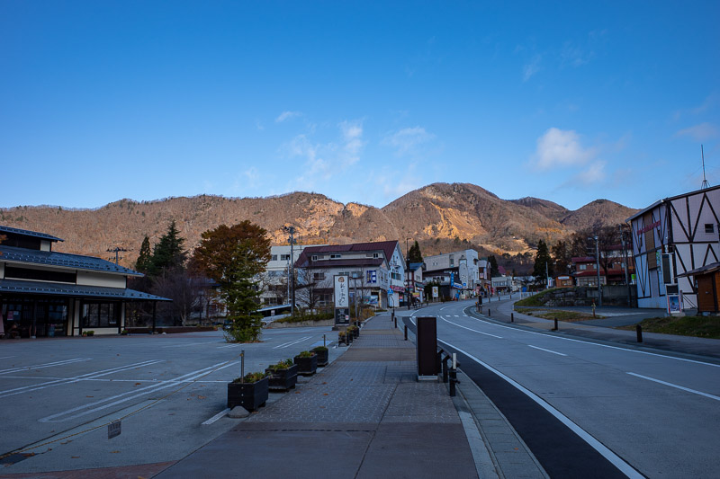 Japan-Yamagata-Hiking-Mount Zao - My hiking course started from about here. Today I followed a map using the Japanese social hiking app thing, Yamap. It caches a jpg to your phone so t