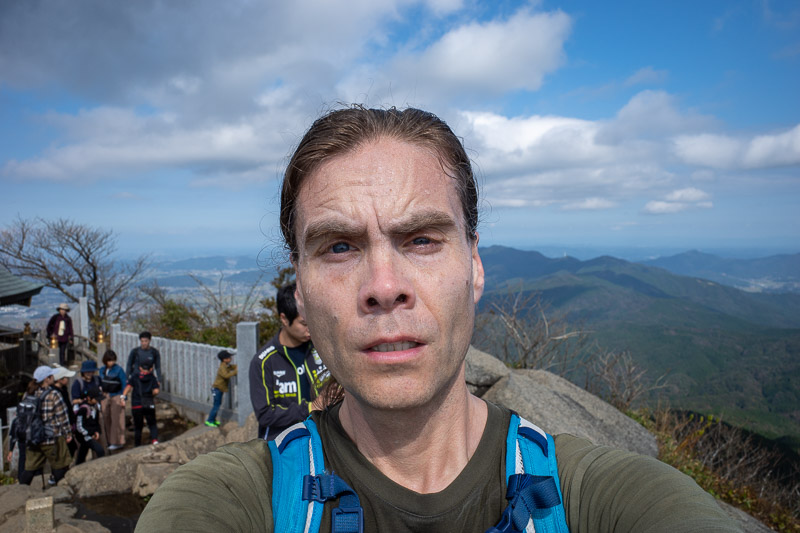 Japan-Tokyo-Hiking-Mount Tsukuba - NAILED IT! On the first attempt too!