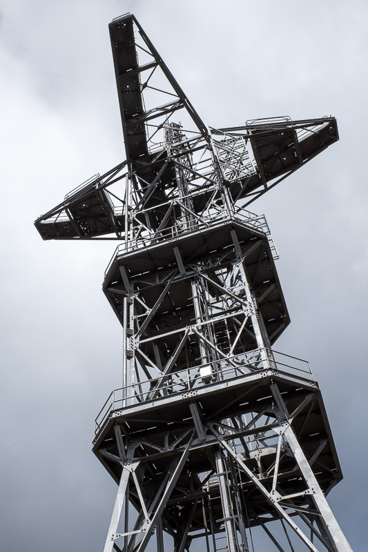 Japan-Tokyo-Hiking-Mount Tsukuba - Like most Japanese mountains, there are many contraptions set up to allow the Emperor to effectively communicate with the sky demons.