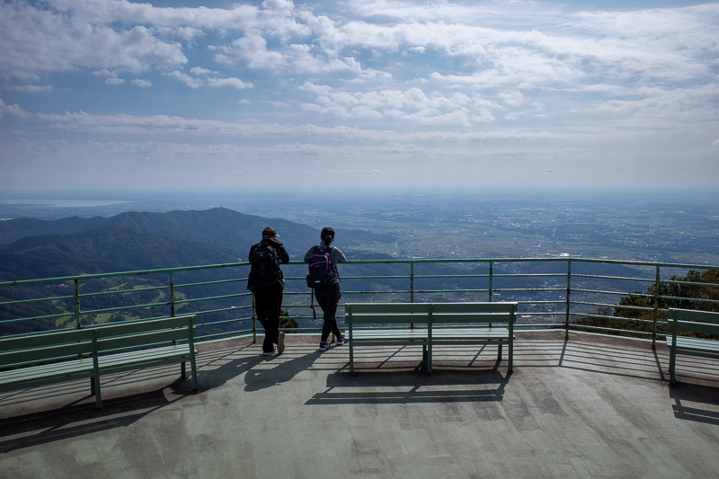 Japan-Tokyo-Hiking-Mount Tsukuba - If you get off the cable car and buy a block of honeycomb, this is your view.