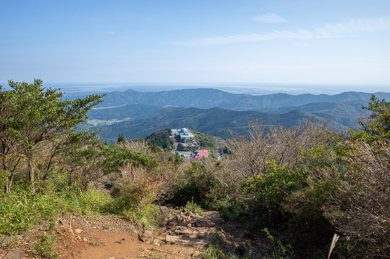 Japan-Tokyo-Hiking-Mount Tsukuba - I found the other path, which was a lot less technical.