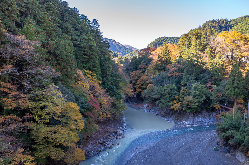 Japan-Hiking-Okutama-Mount Gozenyama - Heres another gorge shot.