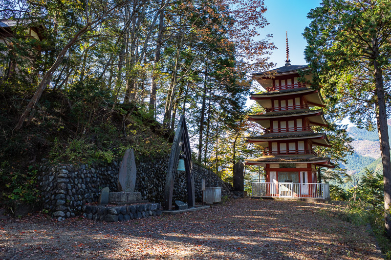 Japan-Hiking-Okutama-Mount Gozenyama - Nice shrine, but too many trees, no view.