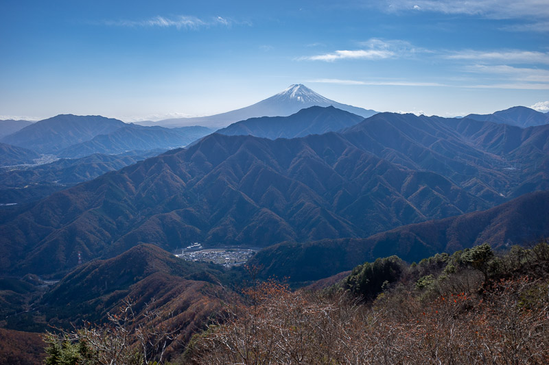 Japan-Tokyo-Hiking-Sasago-Mount Takigoyama - Another of Fujisan, more to come! You dont just climb up a mountain to get Fuji views and not go overboard.