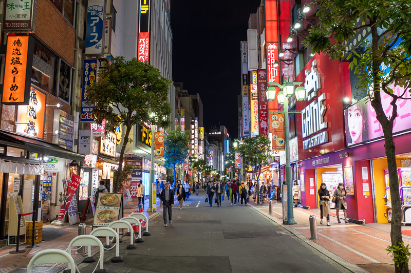 Japan-Tokyo-Harajuku-Shibuya - Just a random street in Shinjuku. Tonights pics will feature many random pics of streets.