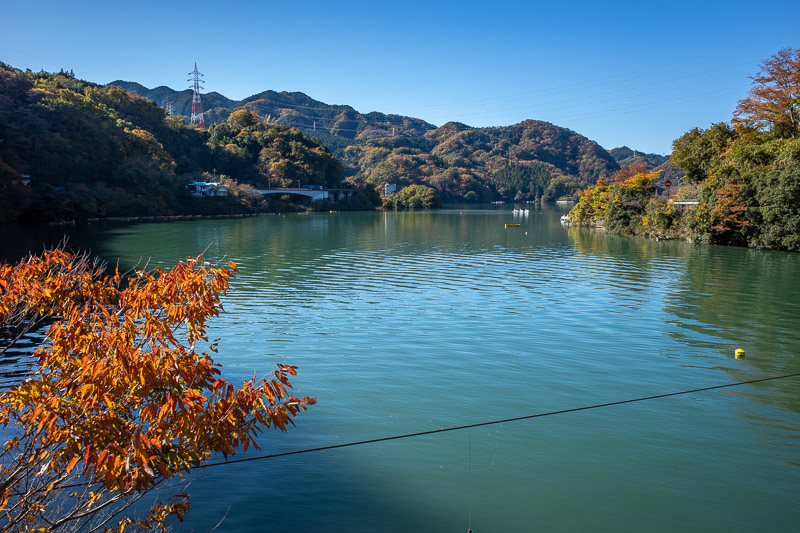 Japan-Hiking-Mount Sekirozan-Lake Sagami - More lake.