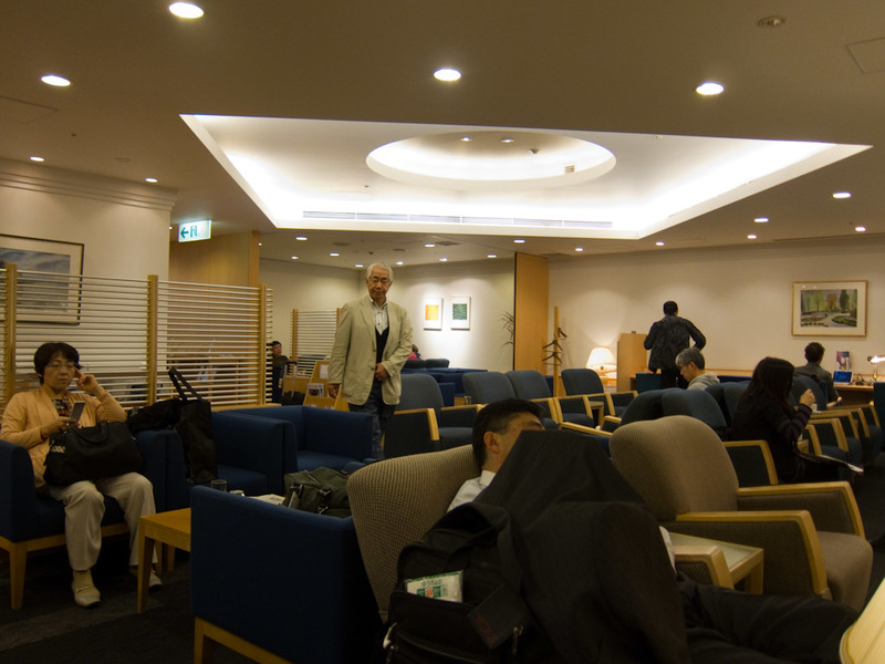 Japan-Taiwan-Osaka-Taoyuan-Airport - This is the Cathay Pacific lounge. It is without a doubt the worst airline lounge I have ever been to in the world. By comparison, Launceston in tasma