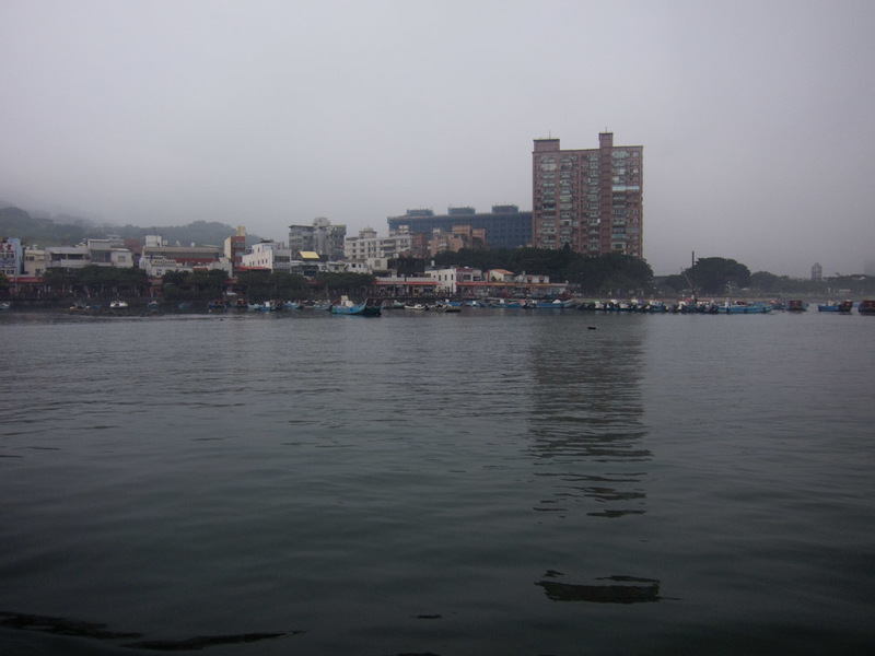 Taiwan-Ferry-Danshui-Tamsui-Bali - As we approached the far side, the fog cleared, and I had indeed arrived at Bali. Not Bali the drunken explosion island of Indonesia, I think some peo