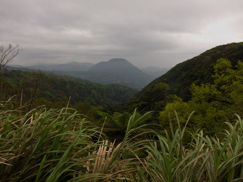 Taiwan-Taipei-Hiking-Yangmingshan - Now I am completely lost! Where did the city go?