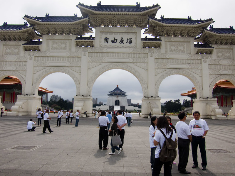 Taiwan-Taipei-Memorial-Mausoleum - Chiang Kai-shek memorial hall