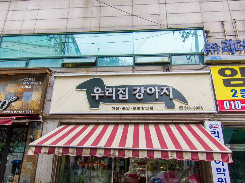 Korea-Incheon-China Town-Amusement Park - Possibly a dog meat restaurant, or not, it was shut so I dont know.