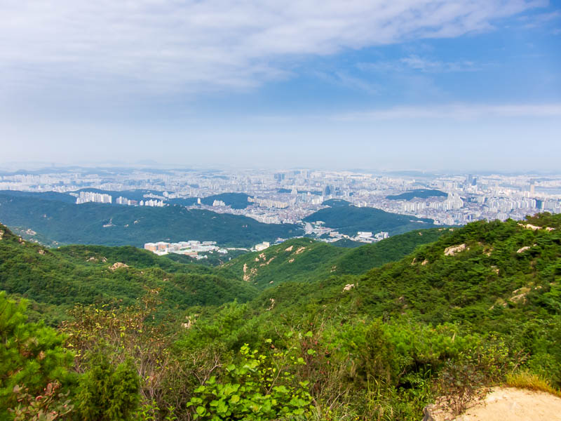 Korea-Seoul-Hiking-Gwanaksan - Random photo of view.