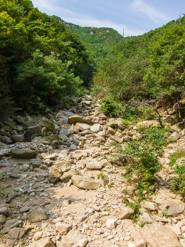 Korea-Seoul-Hiking-Gwanaksan - Looking back up from the bottom of the other side...if that makes sense.  Like I said, theres a heap more photos <a href=https://www.r4d.org/photos/gw