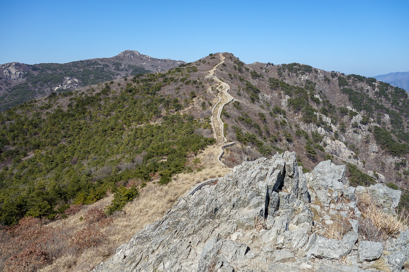 Korea-Busan-Hiking-Geumjung - Great wall of Korea