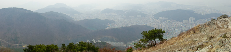 Korea-Busan-Hiking-Gudeoksan - This panorama has been included in the panoramas section you can access from the menu at the left.