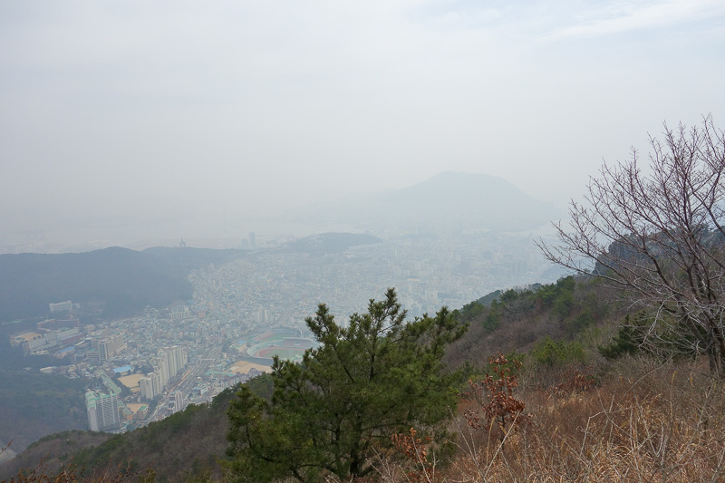 Korea-Busan-Hiking-Gudeoksan - Annnnd, I realise these all look the same, but I am at the next peak. The main one for today.