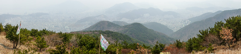 Korea-Busan-Hiking-Gudeoksan - 2nd, superior panormama for today...link at the left...you get it by now.... ........