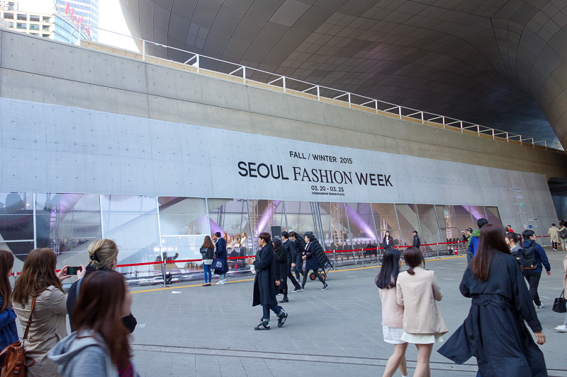 Korea-Seoul-Fashion-Dongdaemun-Architecture - I love to get a head start on whats coming this season. My fluoro yellow running shoes are just peaking now, I have had them 6 months already.