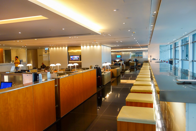 Hong Kong-Airport-Lounge - This is the Cabin. It is a business class only lounge (No First). It is the furthest from customs.