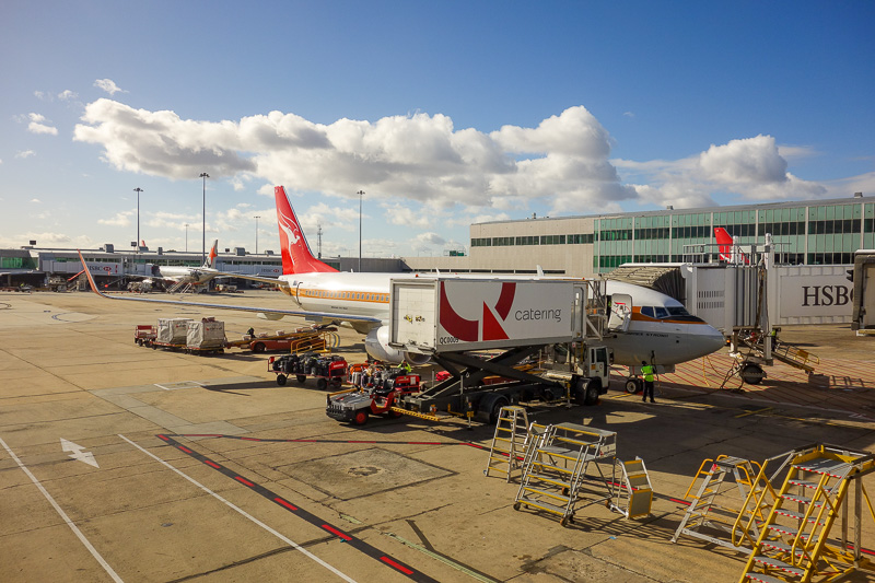 Melbourne-Adelaide-Qantas-Boeing 737 - The end of boring stuff
