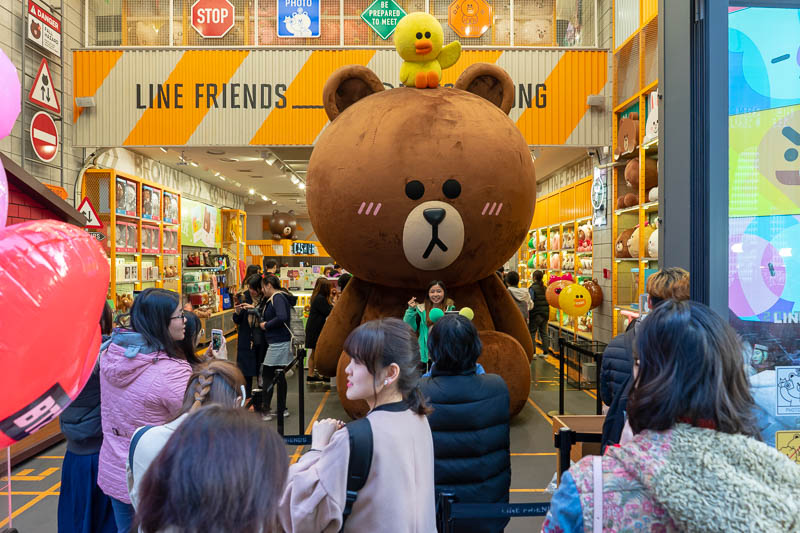 Korea-Seoul-Curry - Now that I practiced on a human sized furry animal, I decided to take on the mega line and friends teddy bear. I lost.