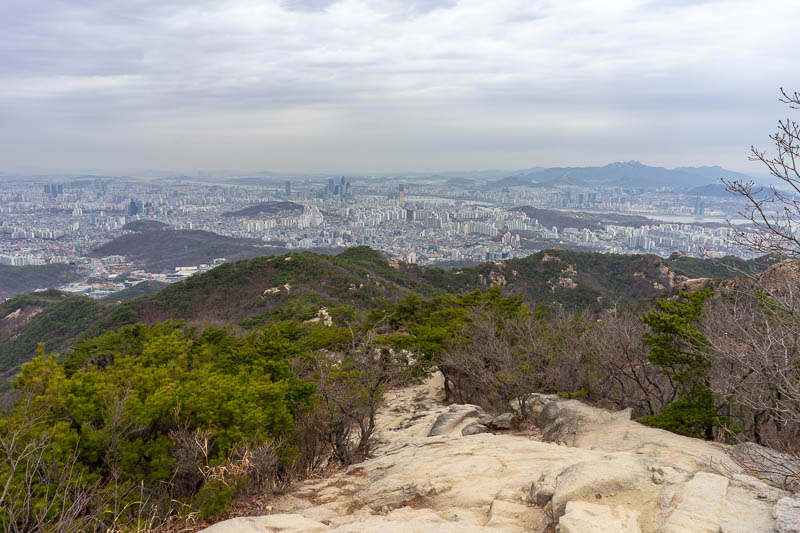 Korea-Seoul-Hiking-Gwanaksan - Mooooore view.