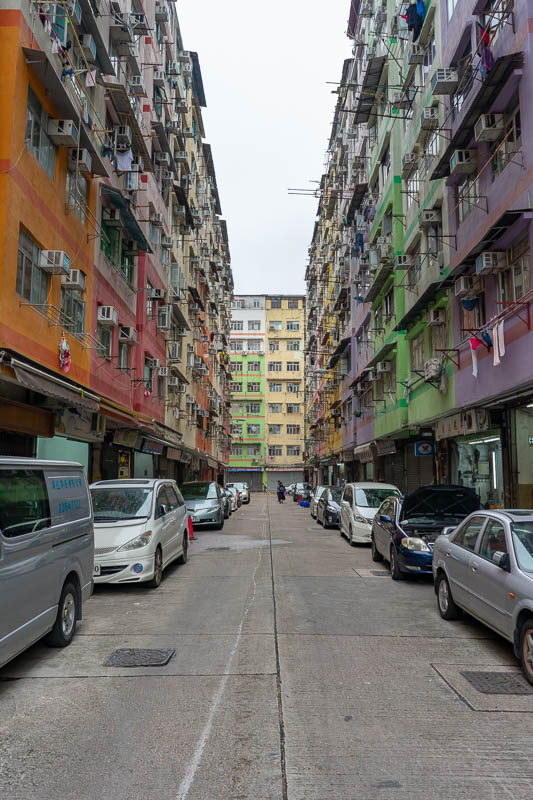 Hong Kong-Kowloon - Cool colors. I thought so anyway.