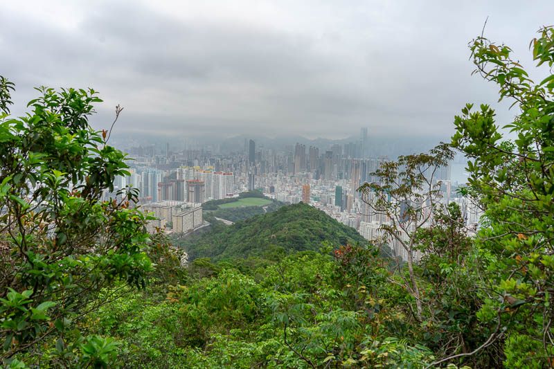 Hong Kong-Hiking-Lion Rock - More view.