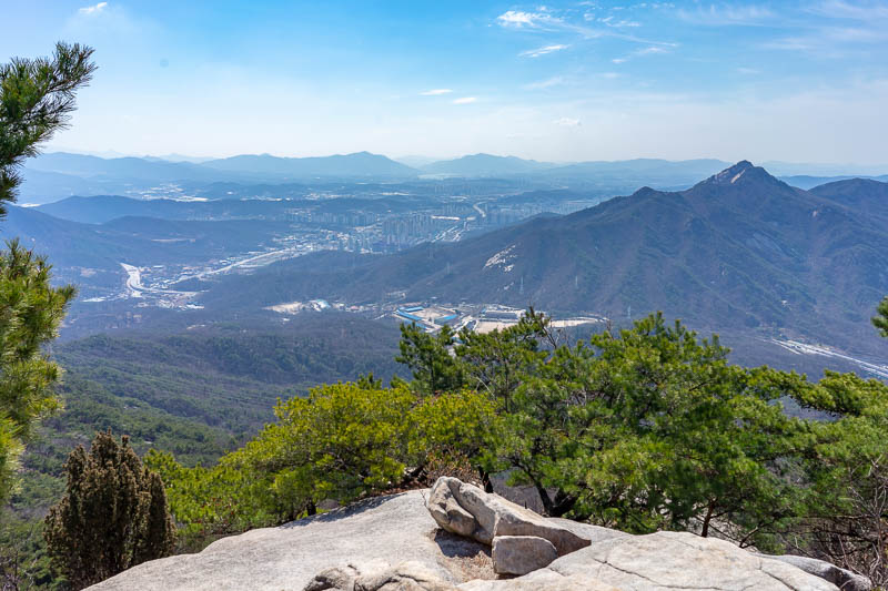 Korea-Hiking-Suraksan - Mountains in every direction, tomorrow perhaps?