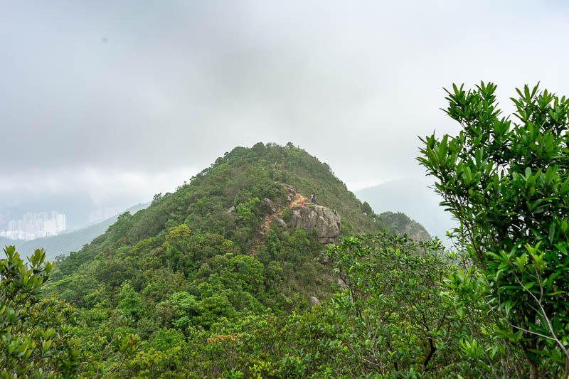 Hong Kong-Hiking-Lion Rock - Past lion rock there is another peak to go over, I dont know what its called, but the signs all point to Sha Tin Pass.