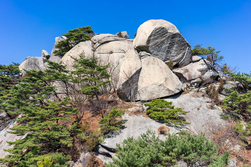Korea-Hiking-Suraksan - I think this is elephant rock. Taipei also has an elephant rock and possibly Hong Kong? Wait thats lion rock. OK so now I have been to Elephant rock i