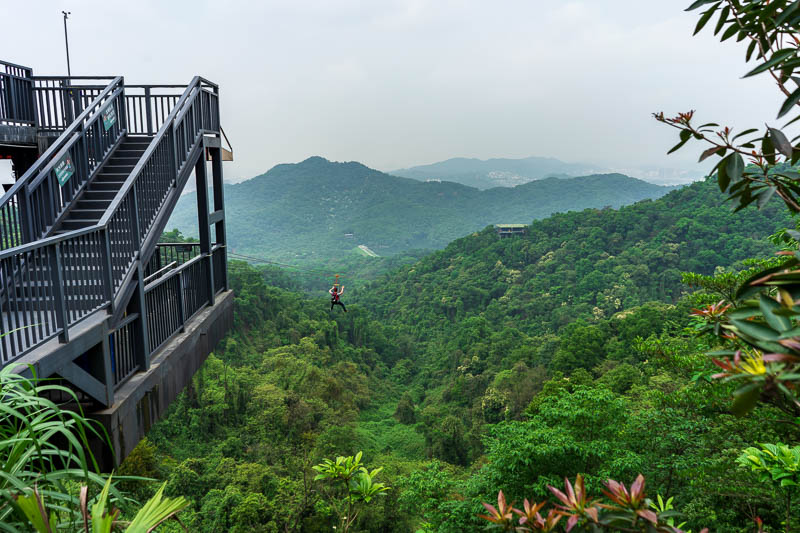 China-Guangzhou-Hiking-Baiyun - AAAAA tourist mountain experience