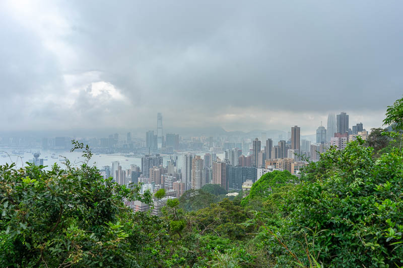 Hong Kong-Hiking-Aberdeen - A bit more view, more view to come.