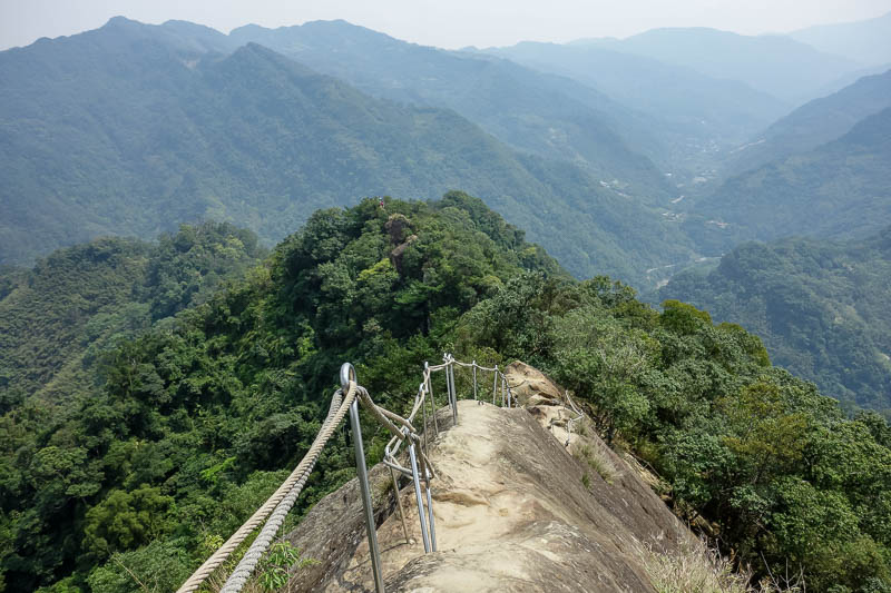 lists - According to some sources, this is the most dangerous hike in Taiwan. It is certainly fun and interesting, with countless ropes, ladders and ridges to