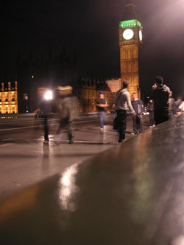 England-London-National Gallery-Big Ben - Big ben, I timed it, its running 14 nanoseconds slow.