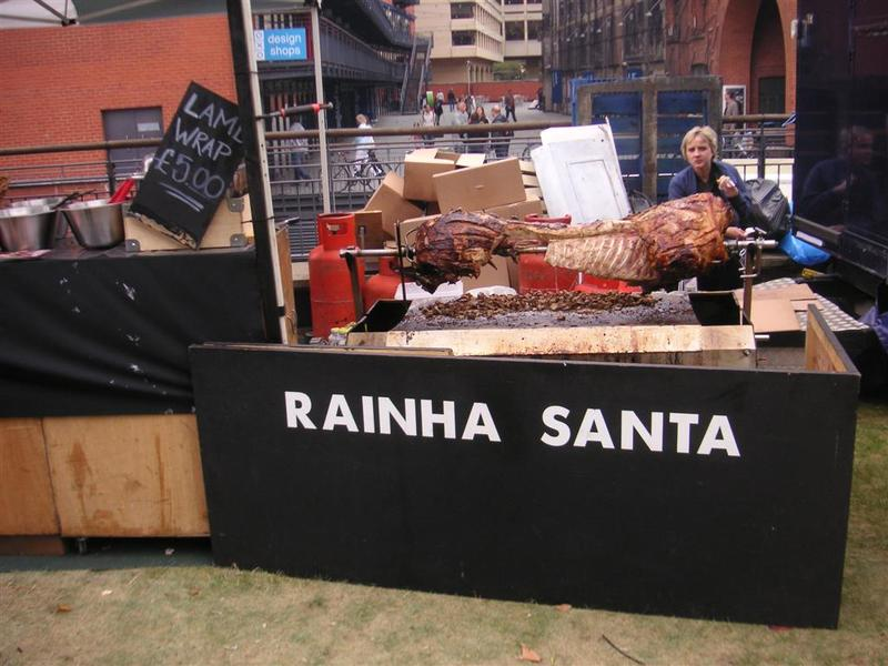 England-London-Thames-Festival - The remains of a pig.