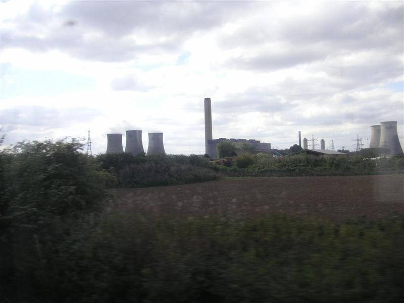 England-Oxford-Garden-Castle - I think I spotted a nuclear power plant.