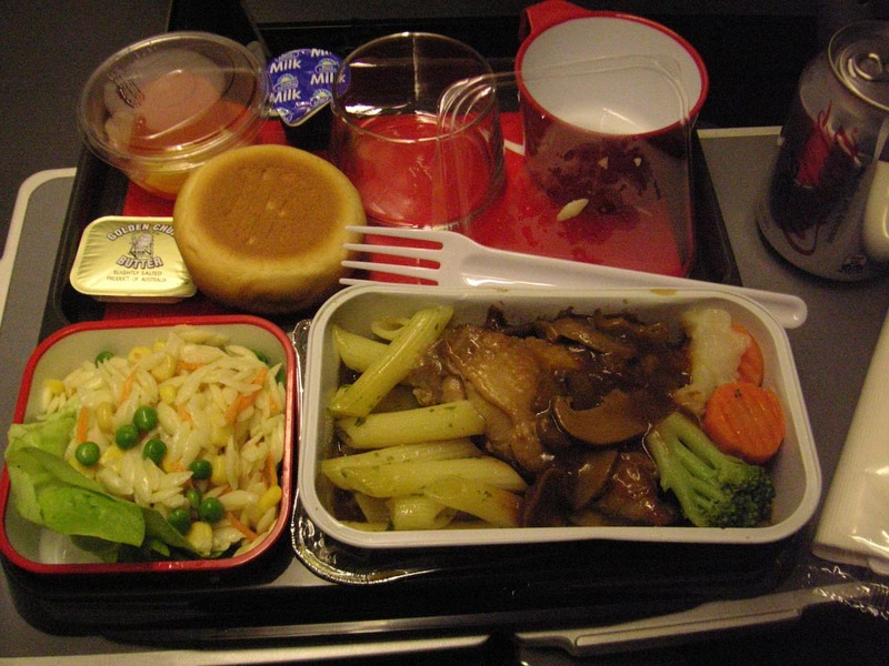 Singapore-London-Heathrow-Qantas - A really terrible roast chicken meal, my previous experience tells me flights catered from Singapore have terrible meals, yet every where I read that